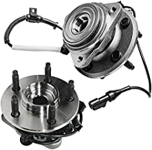 Detroit Axle - 4WD Front Wheel Hub & Bearing Assembly Replacement for Ford Explorer Ranger Mazda B3000 B4000 Mercury Mountaineer - 2pc Set