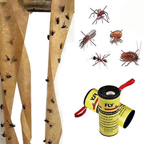 LianMengMVP 16/32 Stück - Fliegenfänger - umweltfreundlich und giftfrei - Fliegenfalle gegen Fliegen, Fruchtfliegen und Obstfliegen Aller Art