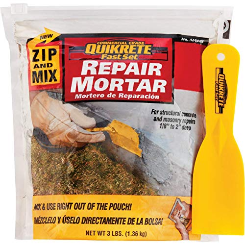 Quikrete 124115 FastSet Repair Mortar Mix
