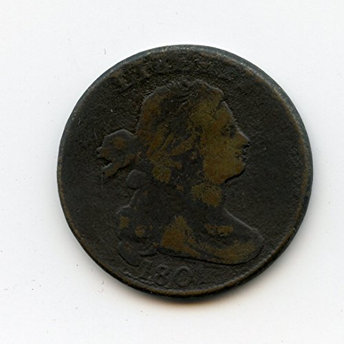 1801 Draped Bust Large Cent VG-08