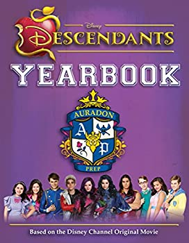 Hardcover Disney Descendants Yearbook Book