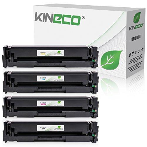 Kineco 4 Toner kompatibel zu Canon I-Sensys MF-631 632 634 635 636 LBP-611 612 613-045