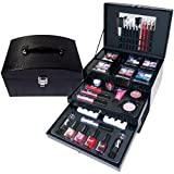 Gloss Stylish Essentials Make up, Geschenkset, 44-teilig, GM-07208-11 Geschenk-Box - Make-up Kit