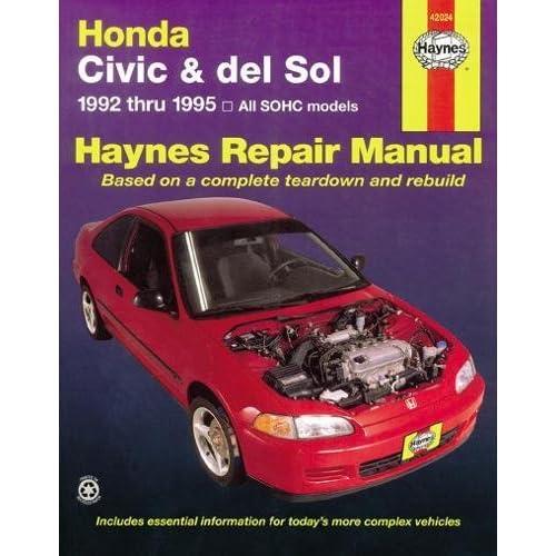 1998 honda civic repair manual