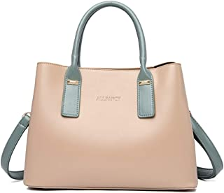 Fanspack Women Handbag Minimalist Elegant Large Capacity Messenger Bag Crossbody Bag for Travel