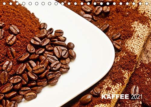 KAFFEE 2021 (Tischkalender 2021 DIN A5 quer)