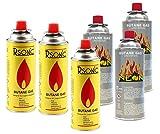 R-Sonic Campingas Cartuchos De Gas 4 Piezas Cartuchos para horno de Gas Outdoor cartuchos Gas butano Gas kar aplicar el rimel
