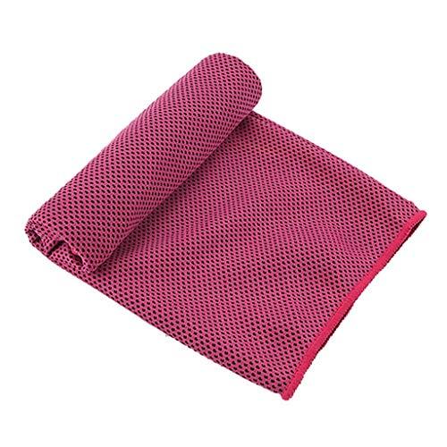 Handtuch Schnelltrocknend Mikrofaser Handtücher in 9 Farben, Skxinn Ultra saugfähig + leicht, Sporthandtuch, Reisehandtuch, Badetuch Microfaser, Strandhandtuch(Hotpink)