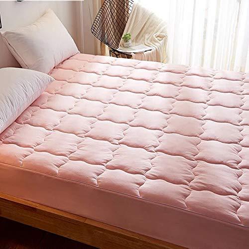 LBYLY Mattress 100% Cotton Mattress Tatami Mattress Non-Slip Mattress Student Dormitory Mattress,120cmx200cm-Pink