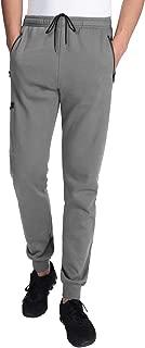 Men's Fleece Jogger Running Pants Workout Trainning Sweatpants Zipped Pockets Fall/Winter Joggers
