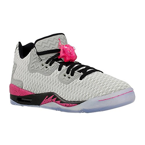 Nike Mädchen Air Jordan Spike Forty Low GG Basketballschuhe, Blanco (Blanco (Pure Platinum/Vivid Pink-Black), 38,5 EU