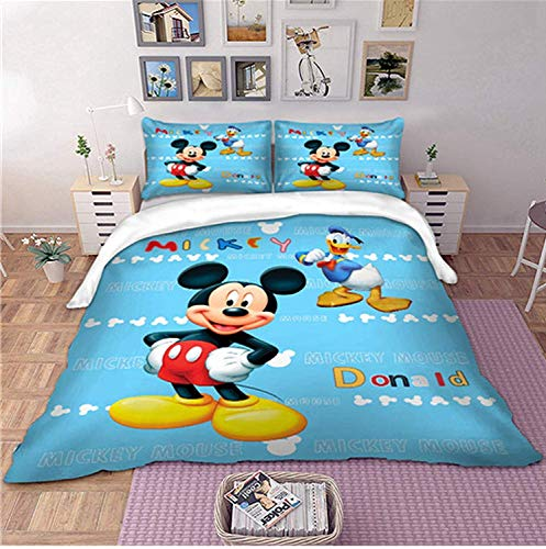 Mickey and Donald bedding set