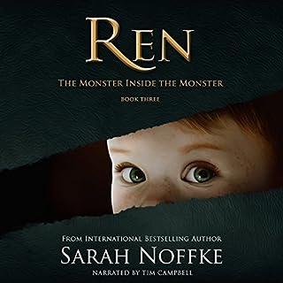 Ren: The Monster Inside the Monster audiobook cover art