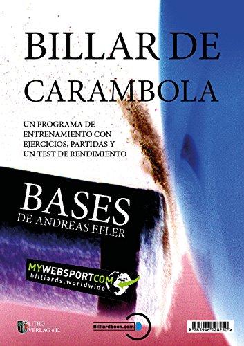 BILLAR DE CARAMBOLA: BASES UN PROGRAMA DE ENTRENAMIENTO CON ...