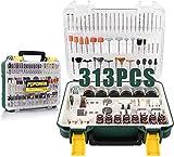 POPOMAN PMAK01H - Set di accessori multiuso per tagliare, levigare, lucidare, forare e incidere