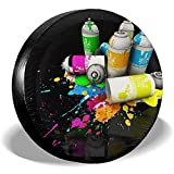 Alice Eva Reserveradabdeckung Graffiti Can Wheel Cover