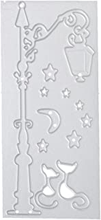 Geyou New Merry Christmas Metal Cutting Dies Stencils Scrapbooking Embossing DIY Crafts (D)