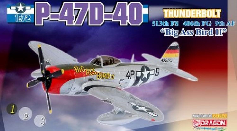 nueva gama alta exclusiva Dragon 1 72 Scale Scale Scale - 50203 P-47D-40 513th FS 406th FG 9th AF Big Ass Bird II  bienvenido a comprar