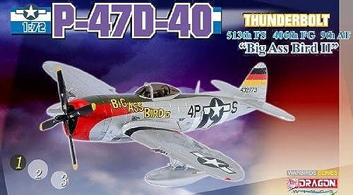 A la venta con descuento del 70%. Dragon 1 72 Scale - 50203 P-47D-40 513th FS FS FS 406th FG 9th AF Big Ass Bird II  tienda en linea