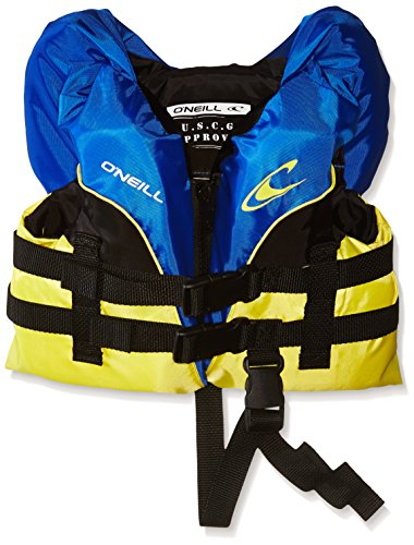 Best Prices! O'Neill Infant Superlite USCG Life Vest, Pacific/Yellow/Black/Yellow, 0-30 lbs