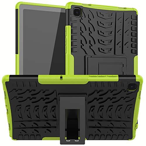 XITODA Funda para Samsung Galaxy Tab A7 10.4 2020,TPU Silicone & Duro PC Protección con Stand Carcasa para Samsung Galaxy Tab A7 LTE WiFi (SM-T500/T505/T507) 10,4 Pulgadas Tablet,Verde
