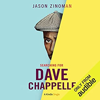 Searching for Dave Chappelle audiobook cover art
