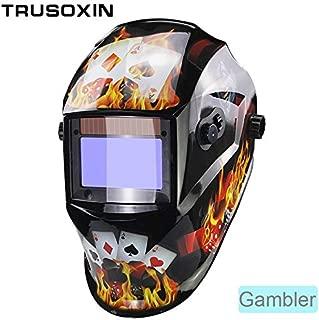 Welding helmet|welding mask|Big View Eara 4 Arc Sensor Grinding Cutting Solar Auto Darkening TIG MIG MMA Welding Mask/Helmet/Welder Cap/Face Mask|By KALLAR
