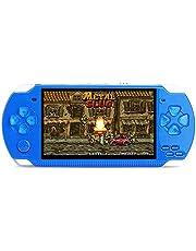 携帯ゲーム機X6 MP4 8GBビデオ プレーヤーレトロ ゲーム 愛好家 4.3インチ16:9 HD スクリーン ブルー