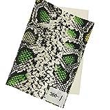 Hongma A4 PU Stoff Schlange Muster Schmuckherstellung