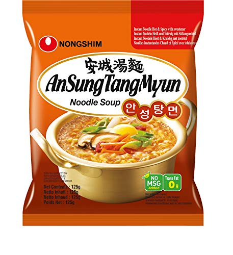 Nongshim Noodles Ansungtangmyun - Pacco da 20 x 125 g