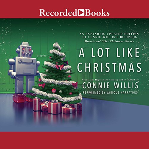 A Lot Like Christmas                   By:                                                                                                                                 Connie Willis                               Narrated by:                                                                                                                                 Eliza Foss,                                                                                        L. J. Ganser,                                                                                        Lori Gardner,                   and others                 Length: 22 hrs and 16 mins     47 ratings     Overall 4.1