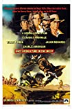 Once Upon a Time in The West Movie Poster (1969) 24x36