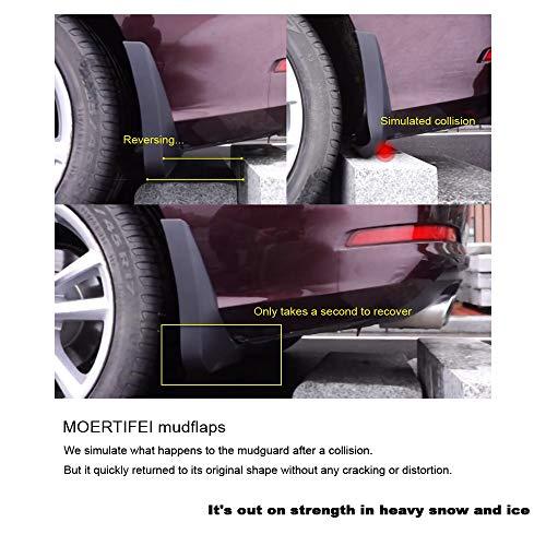 MOERTIFEI Car Mudguard Fender Mud Flaps Splash Guards Compatible with 2015-2019 Audi S3 Sedan/Audi S3 Cabriolet