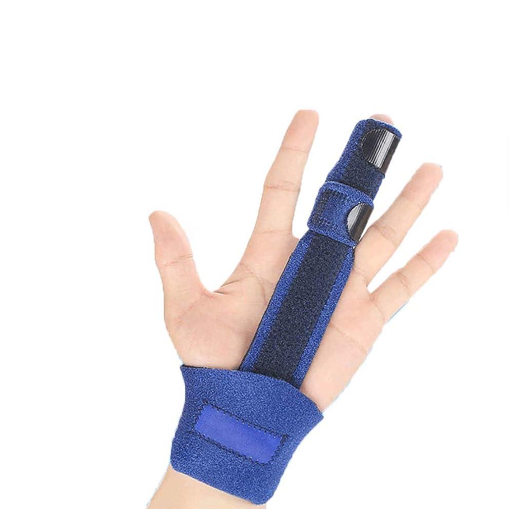 ZHANGZHIYUA Finger Splint for Arthritis, Broken Finger,Trigger Finger, Mallet Finger - Adjustable Fixing Belt with Built-in Aluminium