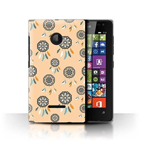 Stuff4 Hülle/Hülle für Microsoft Lumia 532 / Fänger/Muster/Pastell Muster/Bunte Traumfänger-Kunst Kollektion