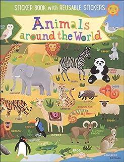 Kid's Animals Around The World Sticker Book