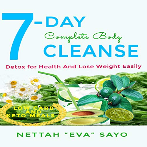 7-Day Complete Body Cleanse audiobook cover art