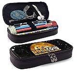 Dogecoin Doge HODL to The Moon Sacs à crayons de grande capacité, sacs à cosmétiques pour les...
