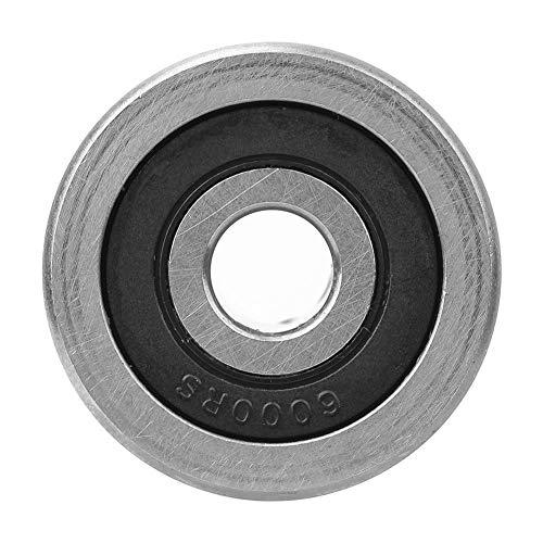 Rodamiento de bolas SG25, rodamiento de guía de ranura de ranura de 8 x 30 x 14 mm U Rodamiento de cromo de alto carbono