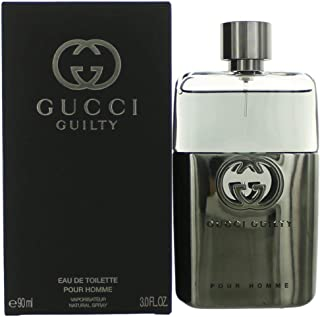 Gucci Guilty Eau De Toilette Spray for Men, 3.0 Ounce
