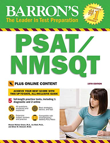 PSAT/NMSQT with Online Tests (Barron's Test Prep)
