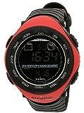 Suunto Vector Red Digital Dial Composite Elastomer Quartz Male Watch SS011516400