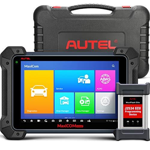 Autel MK 908 P Maxi Profesional Escáner de diagnóstico con Programación de ECU Control bidireccional Inyectores Pruebas Activas y Programación de Llaves