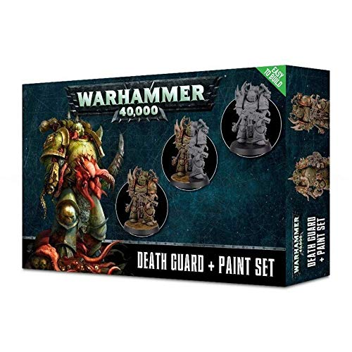 Warhammer 40K: Death Guard and Paint Set