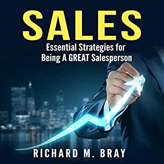Sales - Essential Strategies for Being a Great Salesperson cover art