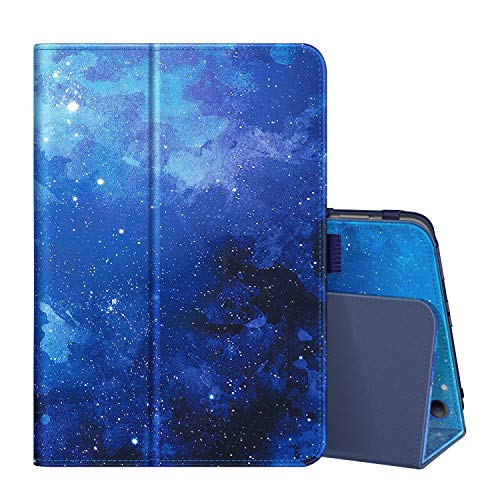 Fintie Folio Case for All-New Amazon Fire HD 8 Tablet and Fire HD 8 Plus Tablet (10th Generation, 2020 Release) - Slim Fit Premium Vegan Leather Standing Cover with Auto Sleep/Wake, Starry Sky
