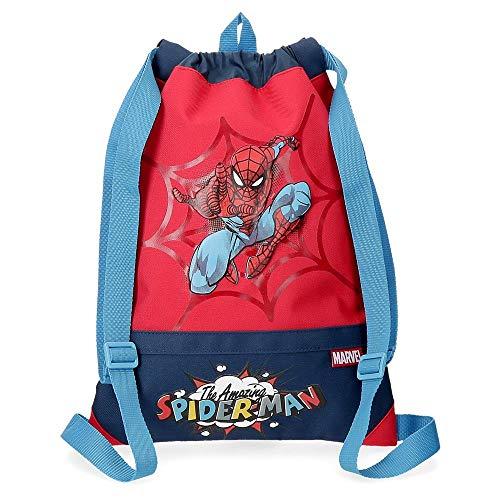 Mochila Saco Spiderman Pop