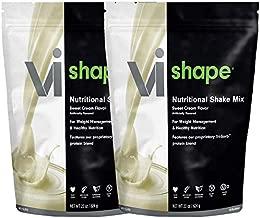 ViSalus Vi Shape Nutritional Shake Mix Sweet Cream Flavor | 2 Bags (22oz each / 48 total servings)