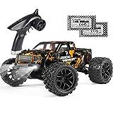HAIBOXING Voiture Télécommandée 1:18 4WD 2,4 GHz 36km/h RC Voiture Étanche Tout Terrain Buggy à Grande Vitesse Voiture de Course RTR Electrique Monster Truck Voiture de Jouet pour Adultes et Enfants