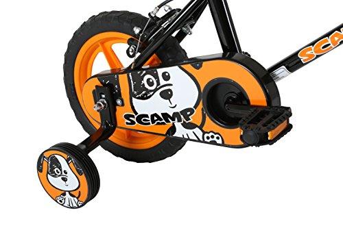Sonic Scamp kids 12 inch wheel Bike, Black